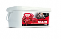 Ruby Difenacoum Rat & Mouse Poison Bait Blocks 1.5kg (50 x 30g)